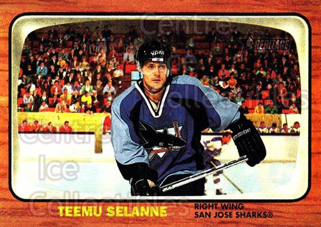 2002-03 Topps Heritage #21 Teemu Selanne<br/>6 In Stock - $2.00 each - <a href=https://centericecollectibles.foxycart.com/cart?name=2002-03%20Topps%20Heritage%20%2321%20Teemu%20Selanne...&quantity_max=6&price=$2.00&code=436056 class=foxycart> Buy it now! </a>