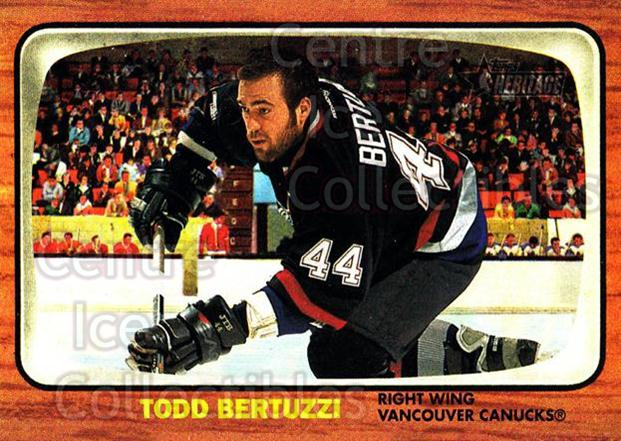 2002-03 Topps Heritage #22 Todd Bertuzzi<br/>6 In Stock - $1.00 each - <a href=https://centericecollectibles.foxycart.com/cart?name=2002-03%20Topps%20Heritage%20%2322%20Todd%20Bertuzzi...&quantity_max=6&price=$1.00&code=436057 class=foxycart> Buy it now! </a>