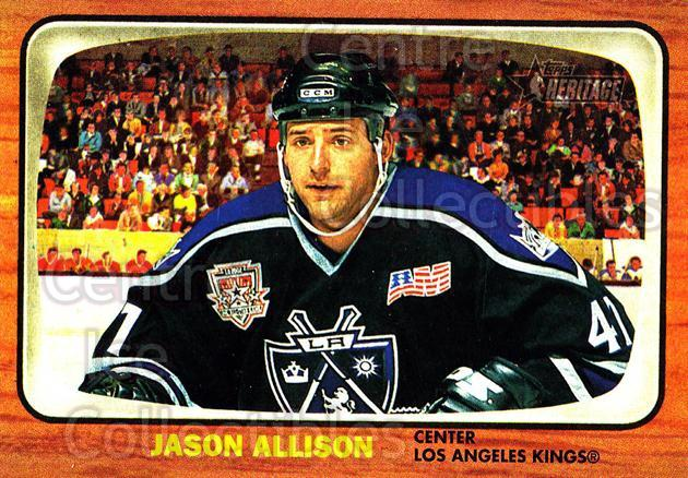 2002-03 Topps Heritage #24 Jason Allison<br/>6 In Stock - $1.00 each - <a href=https://centericecollectibles.foxycart.com/cart?name=2002-03%20Topps%20Heritage%20%2324%20Jason%20Allison...&quantity_max=6&price=$1.00&code=436059 class=foxycart> Buy it now! </a>