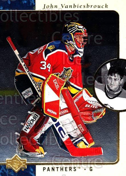 1995-96 SP #56 John Vanbiesbrouck<br/>5 In Stock - $1.00 each - <a href=https://centericecollectibles.foxycart.com/cart?name=1995-96%20SP%20%2356%20John%20Vanbiesbro...&quantity_max=5&price=$1.00&code=43605 class=foxycart> Buy it now! </a>