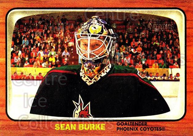 2002-03 Topps Heritage #25 Sean Burke<br/>4 In Stock - $1.00 each - <a href=https://centericecollectibles.foxycart.com/cart?name=2002-03%20Topps%20Heritage%20%2325%20Sean%20Burke...&quantity_max=4&price=$1.00&code=436060 class=foxycart> Buy it now! </a>