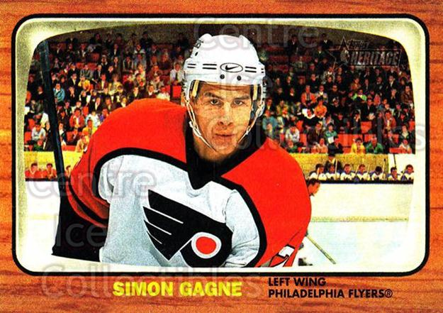 2002-03 Topps Heritage #28 Simon Gagne<br/>5 In Stock - $1.00 each - <a href=https://centericecollectibles.foxycart.com/cart?name=2002-03%20Topps%20Heritage%20%2328%20Simon%20Gagne...&quantity_max=5&price=$1.00&code=436063 class=foxycart> Buy it now! </a>