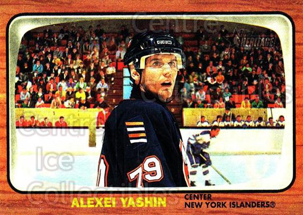 2002-03 Topps Heritage #30 Alexei Yashin<br/>6 In Stock - $1.00 each - <a href=https://centericecollectibles.foxycart.com/cart?name=2002-03%20Topps%20Heritage%20%2330%20Alexei%20Yashin...&quantity_max=6&price=$1.00&code=436065 class=foxycart> Buy it now! </a>