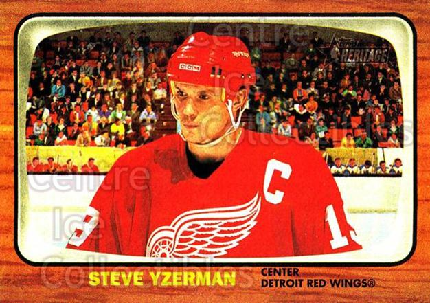 2002-03 Topps Heritage #32 Steve Yzerman<br/>2 In Stock - $2.00 each - <a href=https://centericecollectibles.foxycart.com/cart?name=2002-03%20Topps%20Heritage%20%2332%20Steve%20Yzerman...&quantity_max=2&price=$2.00&code=436067 class=foxycart> Buy it now! </a>