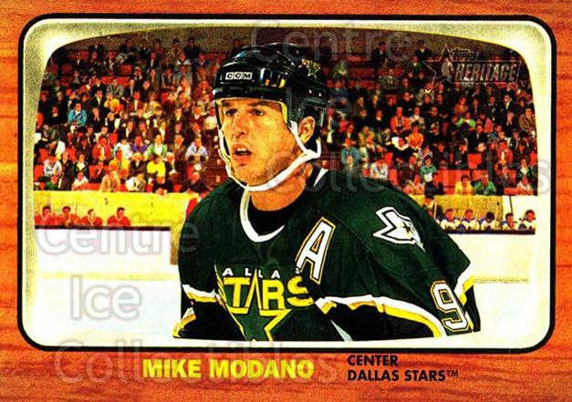 2002-03 Topps Heritage #33 Mike Modano<br/>6 In Stock - $1.00 each - <a href=https://centericecollectibles.foxycart.com/cart?name=2002-03%20Topps%20Heritage%20%2333%20Mike%20Modano...&quantity_max=6&price=$1.00&code=436068 class=foxycart> Buy it now! </a>