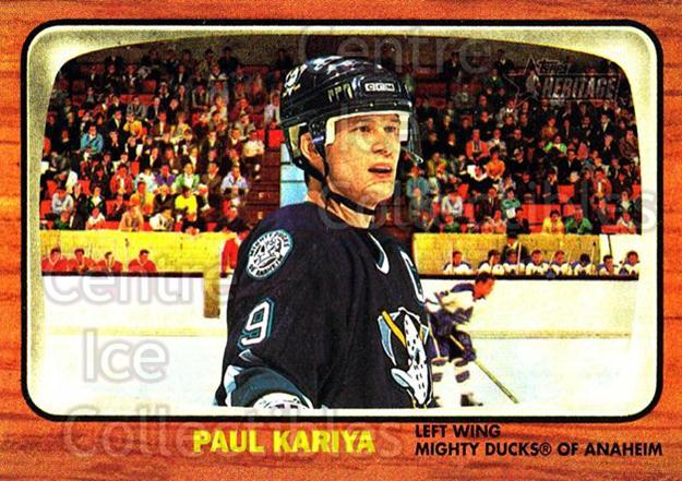 2002-03 Topps Heritage #37 Paul Kariya<br/>5 In Stock - $1.00 each - <a href=https://centericecollectibles.foxycart.com/cart?name=2002-03%20Topps%20Heritage%20%2337%20Paul%20Kariya...&quantity_max=5&price=$1.00&code=436072 class=foxycart> Buy it now! </a>