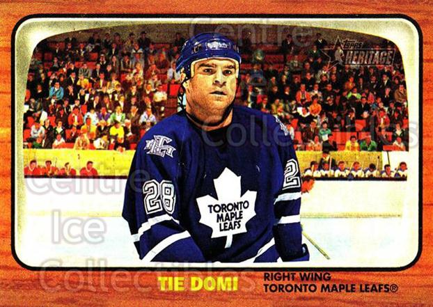 2002-03 Topps Heritage #39 Tie Domi<br/>3 In Stock - $1.00 each - <a href=https://centericecollectibles.foxycart.com/cart?name=2002-03%20Topps%20Heritage%20%2339%20Tie%20Domi...&quantity_max=3&price=$1.00&code=436074 class=foxycart> Buy it now! </a>
