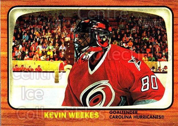 2002-03 Topps Heritage #40 Kevin Weekes<br/>5 In Stock - $1.00 each - <a href=https://centericecollectibles.foxycart.com/cart?name=2002-03%20Topps%20Heritage%20%2340%20Kevin%20Weekes...&quantity_max=5&price=$1.00&code=436075 class=foxycart> Buy it now! </a>