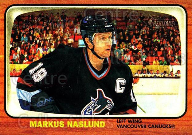 2002-03 Topps Heritage #45 Markus Naslund<br/>6 In Stock - $1.00 each - <a href=https://centericecollectibles.foxycart.com/cart?name=2002-03%20Topps%20Heritage%20%2345%20Markus%20Naslund...&quantity_max=6&price=$1.00&code=436080 class=foxycart> Buy it now! </a>