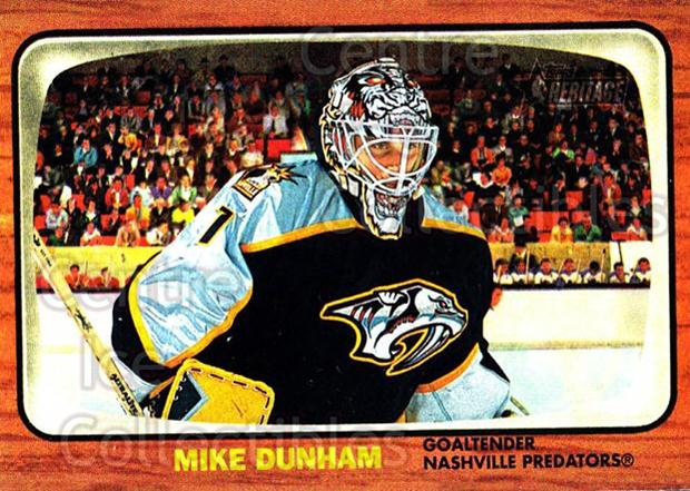 2002-03 Topps Heritage #48 Mike Dunham<br/>5 In Stock - $1.00 each - <a href=https://centericecollectibles.foxycart.com/cart?name=2002-03%20Topps%20Heritage%20%2348%20Mike%20Dunham...&quantity_max=5&price=$1.00&code=436083 class=foxycart> Buy it now! </a>