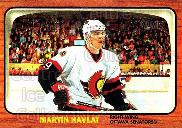 2002-03 Topps Heritage #49 Martin Havlat<br/>6 In Stock - $1.00 each - <a href=https://centericecollectibles.foxycart.com/cart?name=2002-03%20Topps%20Heritage%20%2349%20Martin%20Havlat...&quantity_max=6&price=$1.00&code=436084 class=foxycart> Buy it now! </a>