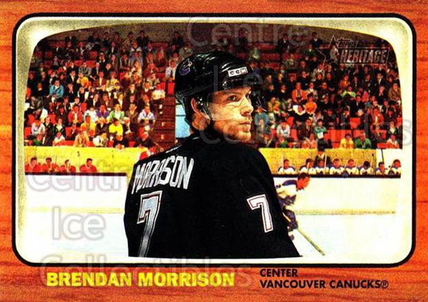 2002-03 Topps Heritage #57 Brendan Morrison<br/>6 In Stock - $1.00 each - <a href=https://centericecollectibles.foxycart.com/cart?name=2002-03%20Topps%20Heritage%20%2357%20Brendan%20Morriso...&quantity_max=6&price=$1.00&code=436092 class=foxycart> Buy it now! </a>
