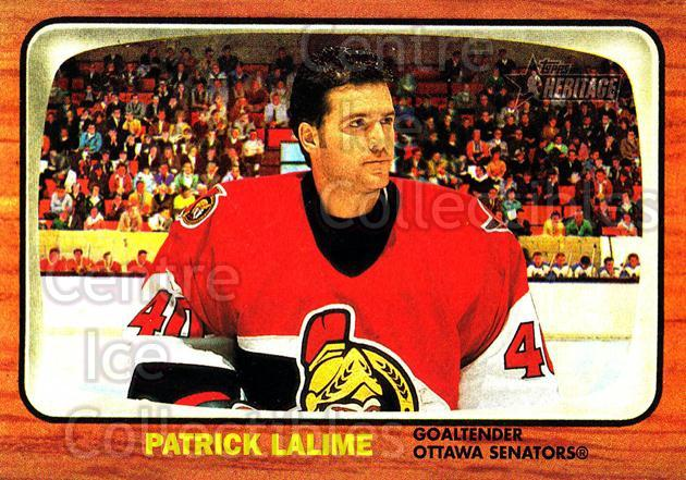 2002-03 Topps Heritage #59 Patrick Lalime<br/>4 In Stock - $1.00 each - <a href=https://centericecollectibles.foxycart.com/cart?name=2002-03%20Topps%20Heritage%20%2359%20Patrick%20Lalime...&quantity_max=4&price=$1.00&code=436094 class=foxycart> Buy it now! </a>