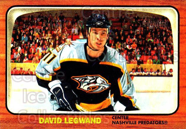 2002-03 Topps Heritage #60 David Legwand<br/>6 In Stock - $1.00 each - <a href=https://centericecollectibles.foxycart.com/cart?name=2002-03%20Topps%20Heritage%20%2360%20David%20Legwand...&quantity_max=6&price=$1.00&code=436095 class=foxycart> Buy it now! </a>