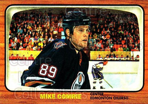 2002-03 Topps Heritage #62 Mike Comrie<br/>6 In Stock - $1.00 each - <a href=https://centericecollectibles.foxycart.com/cart?name=2002-03%20Topps%20Heritage%20%2362%20Mike%20Comrie...&quantity_max=6&price=$1.00&code=436097 class=foxycart> Buy it now! </a>