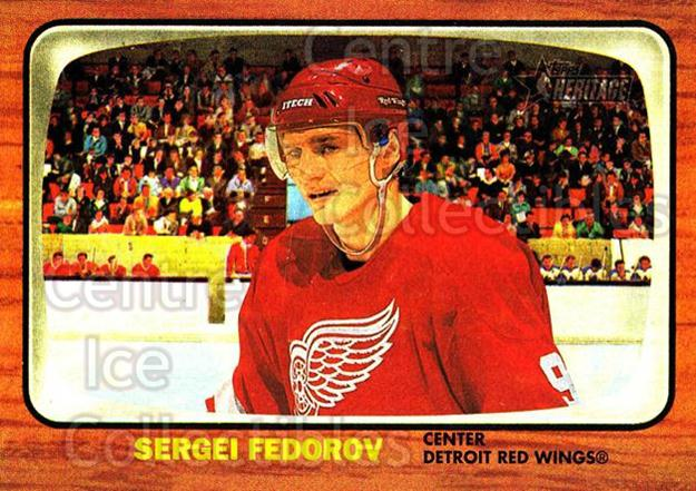 2002-03 Topps Heritage #63 Sergei Fedorov<br/>5 In Stock - $1.00 each - <a href=https://centericecollectibles.foxycart.com/cart?name=2002-03%20Topps%20Heritage%20%2363%20Sergei%20Fedorov...&quantity_max=5&price=$1.00&code=436098 class=foxycart> Buy it now! </a>