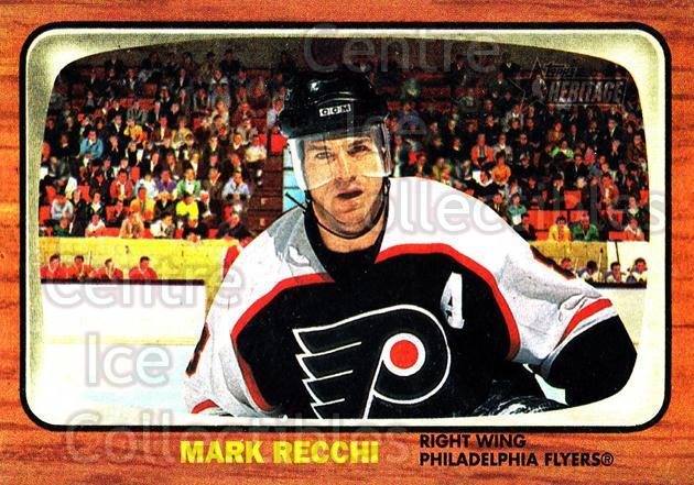 2002-03 Topps Heritage #67 Mark Recchi<br/>6 In Stock - $1.00 each - <a href=https://centericecollectibles.foxycart.com/cart?name=2002-03%20Topps%20Heritage%20%2367%20Mark%20Recchi...&quantity_max=6&price=$1.00&code=436102 class=foxycart> Buy it now! </a>
