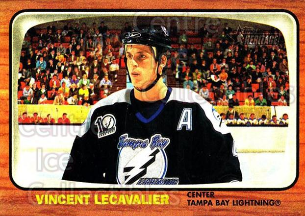2002-03 Topps Heritage #69 Vincent Lecavalier<br/>5 In Stock - $1.00 each - <a href=https://centericecollectibles.foxycart.com/cart?name=2002-03%20Topps%20Heritage%20%2369%20Vincent%20Lecaval...&quantity_max=5&price=$1.00&code=436104 class=foxycart> Buy it now! </a>