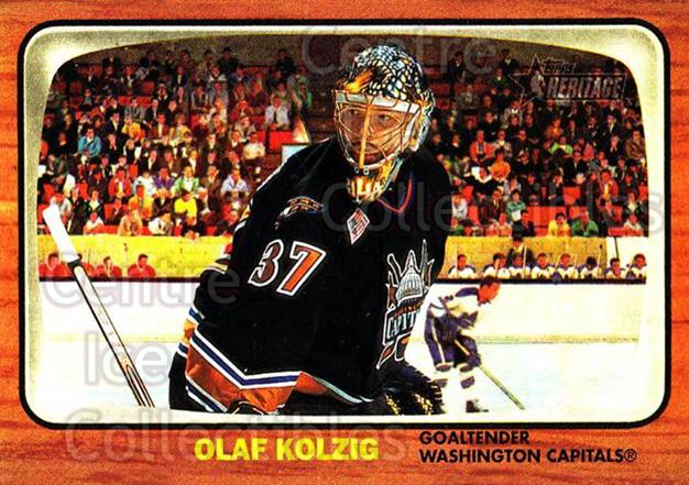 2002-03 Topps Heritage #70 Olaf Kolzig<br/>3 In Stock - $1.00 each - <a href=https://centericecollectibles.foxycart.com/cart?name=2002-03%20Topps%20Heritage%20%2370%20Olaf%20Kolzig...&quantity_max=3&price=$1.00&code=436105 class=foxycart> Buy it now! </a>