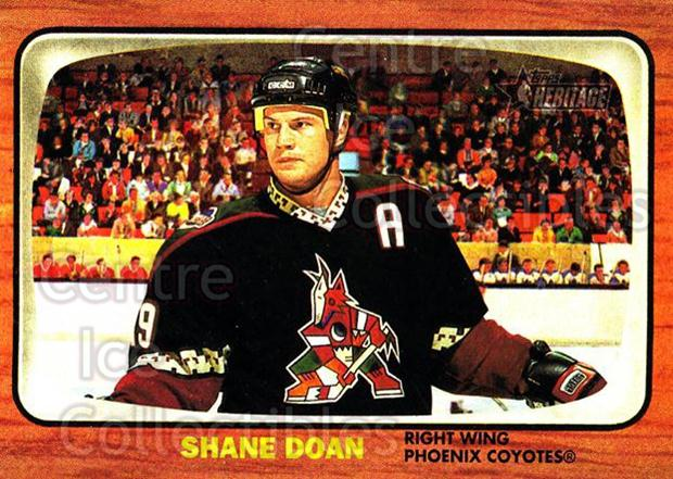 2002-03 Topps Heritage #71 Shane Doan<br/>6 In Stock - $1.00 each - <a href=https://centericecollectibles.foxycart.com/cart?name=2002-03%20Topps%20Heritage%20%2371%20Shane%20Doan...&quantity_max=6&price=$1.00&code=436106 class=foxycart> Buy it now! </a>