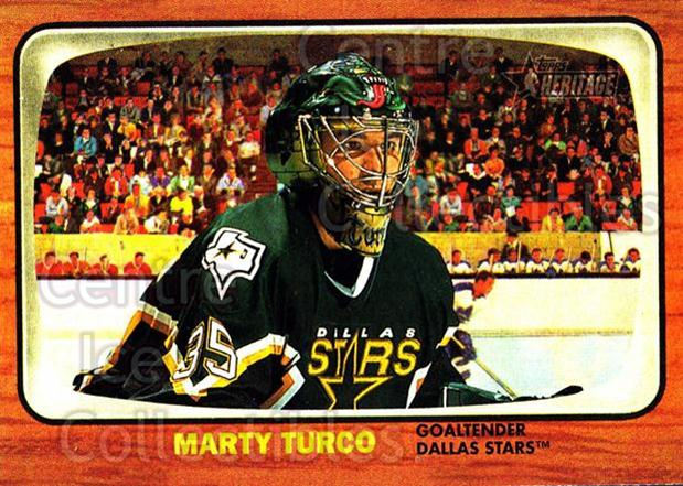 2002-03 Topps Heritage #72 Marty Turco<br/>2 In Stock - $1.00 each - <a href=https://centericecollectibles.foxycart.com/cart?name=2002-03%20Topps%20Heritage%20%2372%20Marty%20Turco...&quantity_max=2&price=$1.00&code=436107 class=foxycart> Buy it now! </a>