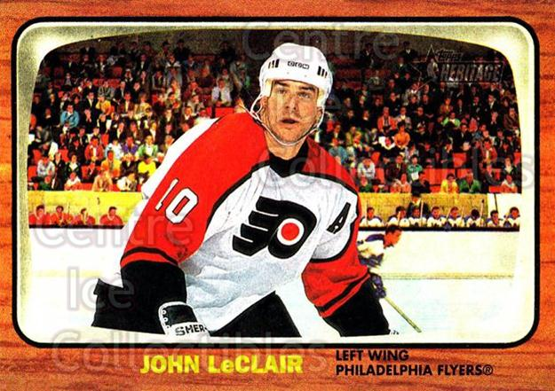 2002-03 Topps Heritage #76 John LeClair<br/>4 In Stock - $1.00 each - <a href=https://centericecollectibles.foxycart.com/cart?name=2002-03%20Topps%20Heritage%20%2376%20John%20LeClair...&quantity_max=4&price=$1.00&code=436111 class=foxycart> Buy it now! </a>