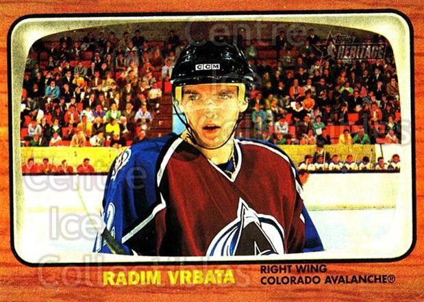 2002-03 Topps Heritage #78 Radim Vrbata<br/>6 In Stock - $1.00 each - <a href=https://centericecollectibles.foxycart.com/cart?name=2002-03%20Topps%20Heritage%20%2378%20Radim%20Vrbata...&quantity_max=6&price=$1.00&code=436113 class=foxycart> Buy it now! </a>