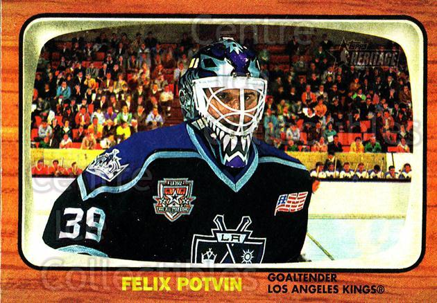 2002-03 Topps Heritage #83 Felix Potvin<br/>2 In Stock - $1.00 each - <a href=https://centericecollectibles.foxycart.com/cart?name=2002-03%20Topps%20Heritage%20%2383%20Felix%20Potvin...&quantity_max=2&price=$1.00&code=436118 class=foxycart> Buy it now! </a>