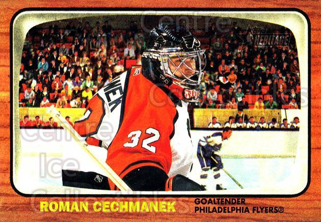 2002-03 Topps Heritage #88 Roman Cechmanek<br/>2 In Stock - $1.00 each - <a href=https://centericecollectibles.foxycart.com/cart?name=2002-03%20Topps%20Heritage%20%2388%20Roman%20Cechmanek...&quantity_max=2&price=$1.00&code=436123 class=foxycart> Buy it now! </a>