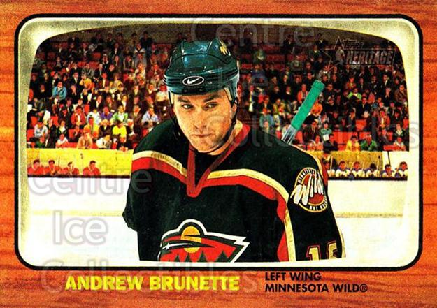 2002-03 Topps Heritage #91 Andrew Brunette<br/>5 In Stock - $1.00 each - <a href=https://centericecollectibles.foxycart.com/cart?name=2002-03%20Topps%20Heritage%20%2391%20Andrew%20Brunette...&quantity_max=5&price=$1.00&code=436126 class=foxycart> Buy it now! </a>
