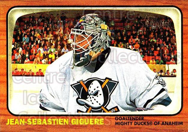 2002-03 Topps Heritage #94 Jean-Sebastien Giguere<br/>1 In Stock - $1.00 each - <a href=https://centericecollectibles.foxycart.com/cart?name=2002-03%20Topps%20Heritage%20%2394%20Jean-Sebastien%20...&quantity_max=1&price=$1.00&code=436129 class=foxycart> Buy it now! </a>