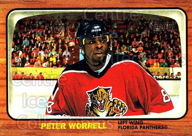 2002-03 Topps Heritage #96 Peter Worrell<br/>5 In Stock - $1.00 each - <a href=https://centericecollectibles.foxycart.com/cart?name=2002-03%20Topps%20Heritage%20%2396%20Peter%20Worrell...&quantity_max=5&price=$1.00&code=436131 class=foxycart> Buy it now! </a>