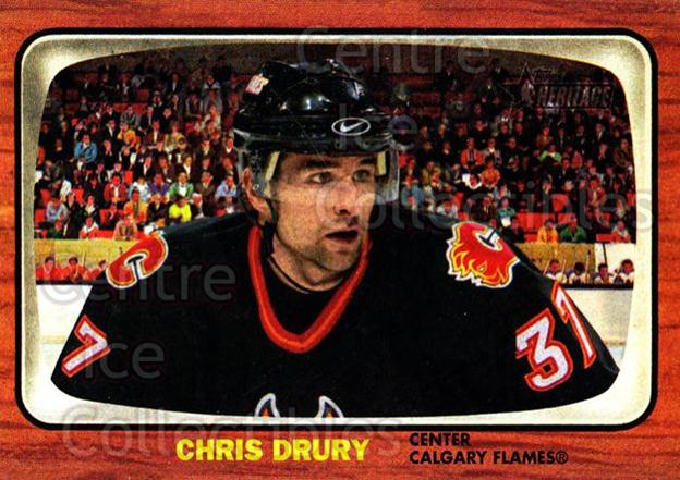 2002-03 Topps Heritage #100 Chris Drury<br/>6 In Stock - $1.00 each - <a href=https://centericecollectibles.foxycart.com/cart?name=2002-03%20Topps%20Heritage%20%23100%20Chris%20Drury...&quantity_max=6&price=$1.00&code=436135 class=foxycart> Buy it now! </a>