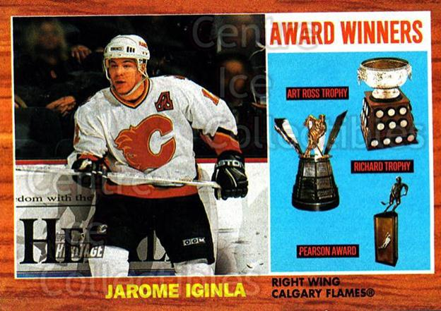2002-03 Topps Heritage #101 Jarome Iginla<br/>5 In Stock - $1.00 each - <a href=https://centericecollectibles.foxycart.com/cart?name=2002-03%20Topps%20Heritage%20%23101%20Jarome%20Iginla...&quantity_max=5&price=$1.00&code=436136 class=foxycart> Buy it now! </a>