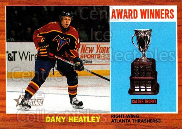 2002-03 Topps Heritage #103 Dany Heatley<br/>5 In Stock - $1.00 each - <a href=https://centericecollectibles.foxycart.com/cart?name=2002-03%20Topps%20Heritage%20%23103%20Dany%20Heatley...&quantity_max=5&price=$1.00&code=436138 class=foxycart> Buy it now! </a>