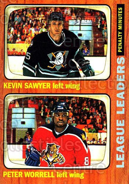2002-03 Topps Heritage #114 Kevin Sawyer, Petr Worrell<br/>6 In Stock - $1.00 each - <a href=https://centericecollectibles.foxycart.com/cart?name=2002-03%20Topps%20Heritage%20%23114%20Kevin%20Sawyer,%20P...&quantity_max=6&price=$1.00&code=436149 class=foxycart> Buy it now! </a>
