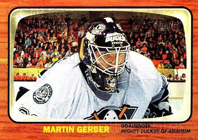 2002-03 Topps Heritage #132 Martin Gerber<br/>2 In Stock - $5.00 each - <a href=https://centericecollectibles.foxycart.com/cart?name=2002-03%20Topps%20Heritage%20%23132%20Martin%20Gerber...&quantity_max=2&price=$5.00&code=436167 class=foxycart> Buy it now! </a>
