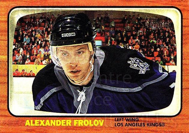 2002-03 Topps Heritage #133 Alexander Frolov<br/>2 In Stock - $5.00 each - <a href=https://centericecollectibles.foxycart.com/cart?name=2002-03%20Topps%20Heritage%20%23133%20Alexander%20Frolo...&quantity_max=2&price=$5.00&code=436168 class=foxycart> Buy it now! </a>