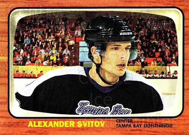 2002-03 Topps Heritage #136 Alexander Svitov<br/>2 In Stock - $5.00 each - <a href=https://centericecollectibles.foxycart.com/cart?name=2002-03%20Topps%20Heritage%20%23136%20Alexander%20Svito...&quantity_max=2&price=$5.00&code=436171 class=foxycart> Buy it now! </a>