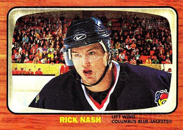 2002-03 Topps Heritage #140 Rick Nash<br/>1 In Stock - $10.00 each - <a href=https://centericecollectibles.foxycart.com/cart?name=2002-03%20Topps%20Heritage%20%23140%20Rick%20Nash...&quantity_max=1&price=$10.00&code=436175 class=foxycart> Buy it now! </a>