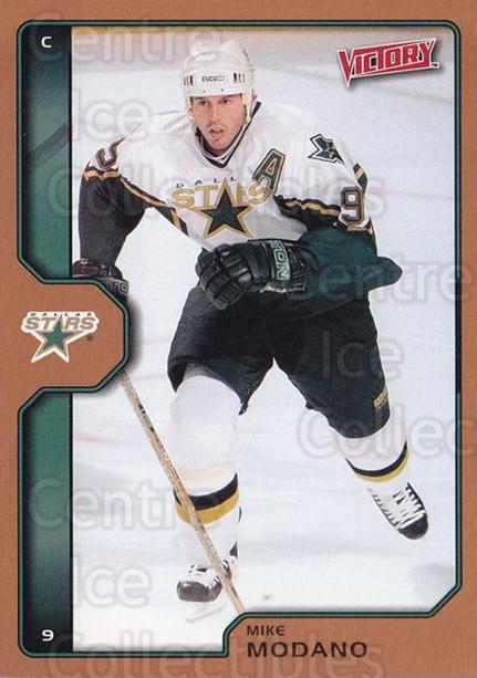 2002-03 UD Victory Bronze #69 Mike Modano<br/>2 In Stock - $2.00 each - <a href=https://centericecollectibles.foxycart.com/cart?name=2002-03%20UD%20Victory%20Bronze%20%2369%20Mike%20Modano...&quantity_max=2&price=$2.00&code=436338 class=foxycart> Buy it now! </a>