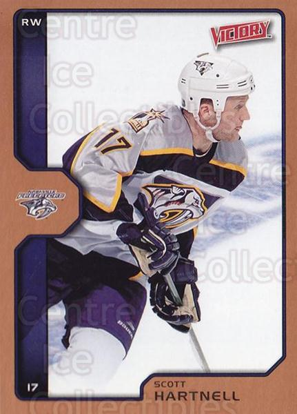 2002-03 UD Victory Bronze #117 Scott Hartnell<br/>1 In Stock - $2.00 each - <a href=https://centericecollectibles.foxycart.com/cart?name=2002-03%20UD%20Victory%20Bronze%20%23117%20Scott%20Hartnell...&quantity_max=1&price=$2.00&code=436398 class=foxycart> Buy it now! </a>