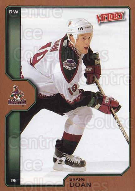 2002-03 UD Victory Bronze #165 Shane Doan<br/>1 In Stock - $2.00 each - <a href=https://centericecollectibles.foxycart.com/cart?name=2002-03%20UD%20Victory%20Bronze%20%23165%20Shane%20Doan...&quantity_max=1&price=$2.00&code=436438 class=foxycart> Buy it now! </a>