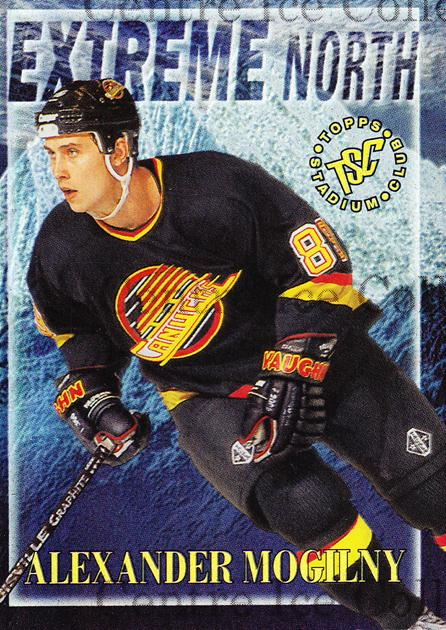 1995-96 Stadium Club Extreme North #9 Alexander Mogilny<br/>4 In Stock - $3.00 each - <a href=https://centericecollectibles.foxycart.com/cart?name=1995-96%20Stadium%20Club%20Extreme%20North%20%239%20Alexander%20Mogil...&quantity_max=4&price=$3.00&code=43645 class=foxycart> Buy it now! </a>