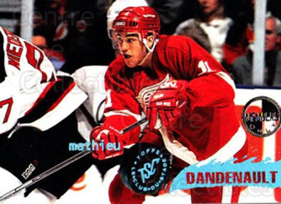 1995-96 Stadium Club Members Only #213 Mathieu Dandenault<br/>7 In Stock - $3.00 each - <a href=https://centericecollectibles.foxycart.com/cart?name=1995-96%20Stadium%20Club%20Members%20Only%20%23213%20Mathieu%20Dandena...&quantity_max=7&price=$3.00&code=43660 class=foxycart> Buy it now! </a>