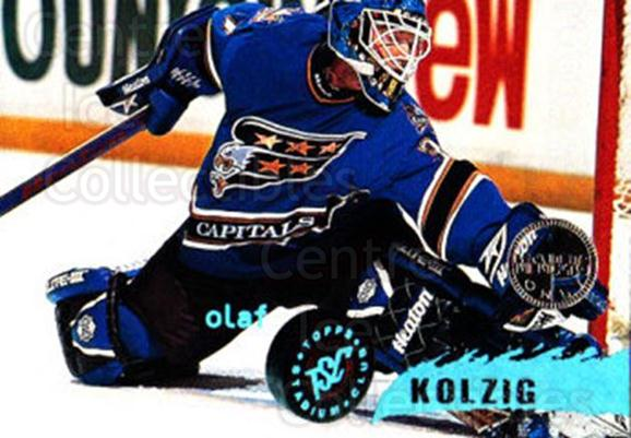 1995-96 Stadium Club Members Only #217 Olaf Kolzig<br/>5 In Stock - $3.00 each - <a href=https://centericecollectibles.foxycart.com/cart?name=1995-96%20Stadium%20Club%20Members%20Only%20%23217%20Olaf%20Kolzig...&quantity_max=5&price=$3.00&code=43664 class=foxycart> Buy it now! </a>