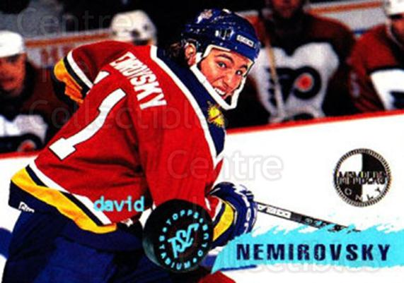 1995-96 Stadium Club Members Only #223 David Nemirovsky<br/>8 In Stock - $3.00 each - <a href=https://centericecollectibles.foxycart.com/cart?name=1995-96%20Stadium%20Club%20Members%20Only%20%23223%20David%20Nemirovsk...&quantity_max=8&price=$3.00&code=43670 class=foxycart> Buy it now! </a>