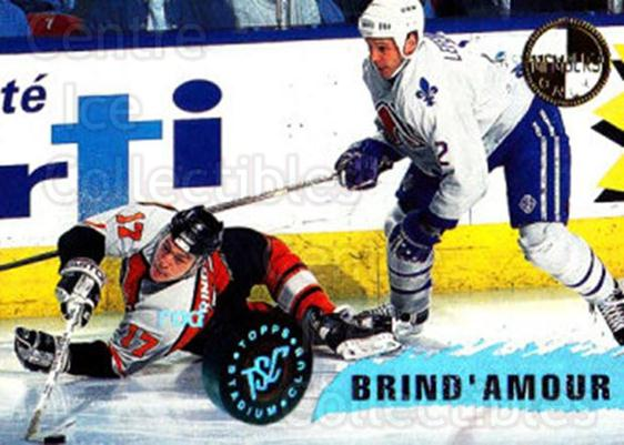 1995-96 Stadium Club Members Only #36 Rod Brind'Amour<br/>4 In Stock - $3.00 each - <a href=https://centericecollectibles.foxycart.com/cart?name=1995-96%20Stadium%20Club%20Members%20Only%20%2336%20Rod%20Brind'Amour...&quantity_max=4&price=$3.00&code=43685 class=foxycart> Buy it now! </a>