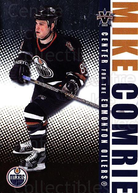 2002-03 Vanguard #42 Mike Comrie<br/>4 In Stock - $1.00 each - <a href=https://centericecollectibles.foxycart.com/cart?name=2002-03%20Vanguard%20%2342%20Mike%20Comrie...&quantity_max=4&price=$1.00&code=437017 class=foxycart> Buy it now! </a>