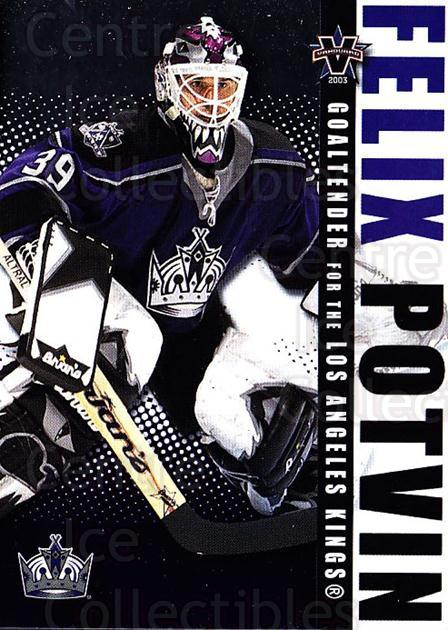 2002-03 Vanguard #50 Felix Potvin<br/>1 In Stock - $1.00 each - <a href=https://centericecollectibles.foxycart.com/cart?name=2002-03%20Vanguard%20%2350%20Felix%20Potvin...&quantity_max=1&price=$1.00&code=437025 class=foxycart> Buy it now! </a>